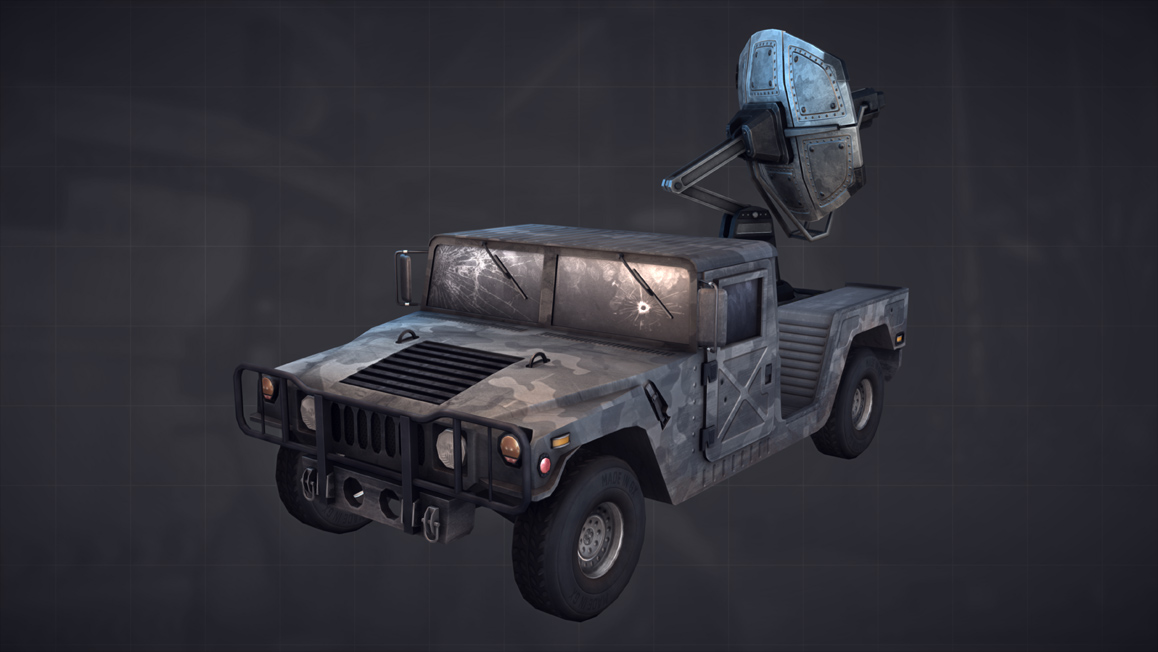 Humvee Front